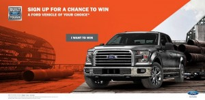 2015 Ford Vehicle Sweepstakes