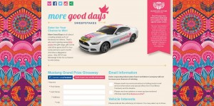 2015 Warriors in Pink More Good Days Sweepstakes
