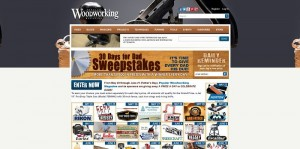 Popular Woodworking 30 Days for Dad Sweepstakes