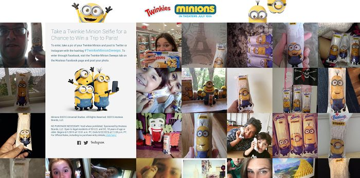 The Ultimate Twinkie Minion Sweepstakes (TwinkieMinions.com)