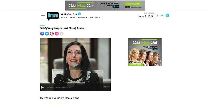Odd Mom Out V.I.M Sweepstakes