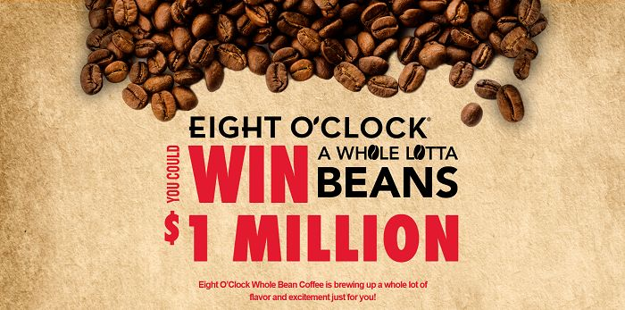 EightOClockWholeLottaBeans.com - Eight O'Clock Whole Lotta Beans Sweepstakes