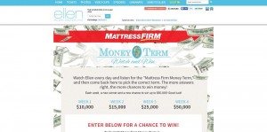 EllenTV.com/MattressFirm - Ellen's Mattress Firm Money Term Of The Day Contest