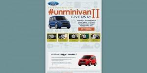 Ford #Unminivan Giveaway