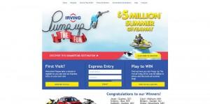 IrvingFun.com - Irving Oil Pump Up The Fun Game