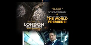 Fandango London Has Fallen Sweepstakes