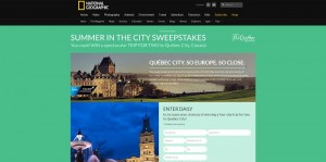 2015 Summer in the City Sweepstakes