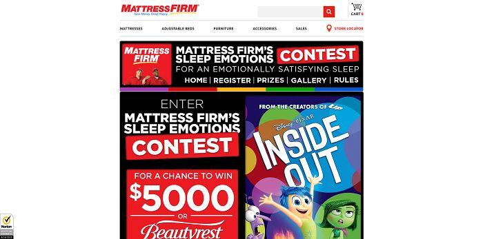 Mattress Firm's Sleep Emotions Contest