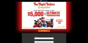 Fandango's The Night Before Sweepstakes