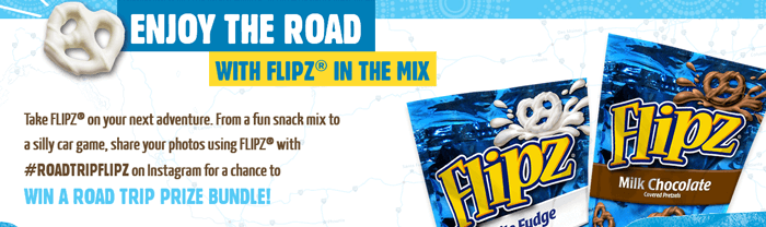 RoadTripFlipz.com - FLIPZ Road Trip Sweepstakes 2016