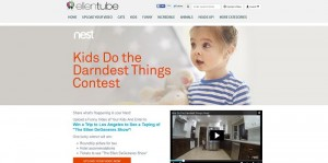 ellentube's Nest Cam's Kids Do The Darndest Things Contest
