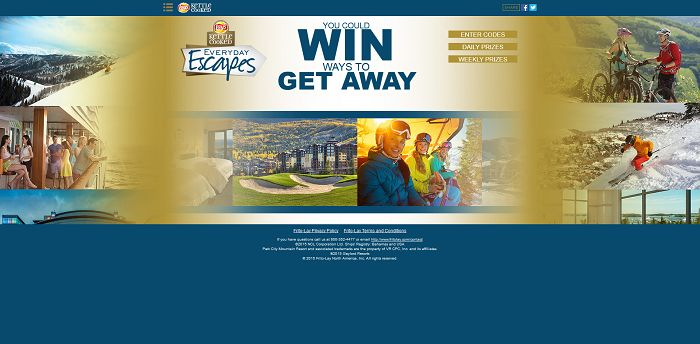 EverydayEscapes.com - LAY'S Kettle Cooked Everyday Escapes Promotion