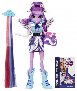 MLPEG Rockin Hairstyles Doll (Twilight Sparkle)