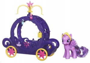 My Little Pony Princess Twilight Sparkle Charm Carriage Playset