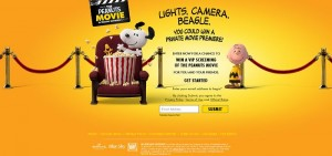 Peanuts Movie Sweepstake-snoopysweeps_com_hallmark