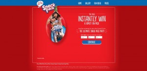 SnackPackAndWin.com - Snack Pack Have A Spoonful And Win Game