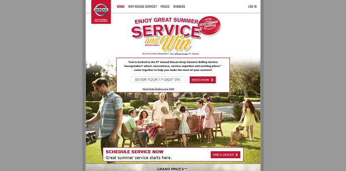 NissanUSA.com/KeepSummerRolling - Nissan Keep Summer Rolling Sweepstakes
