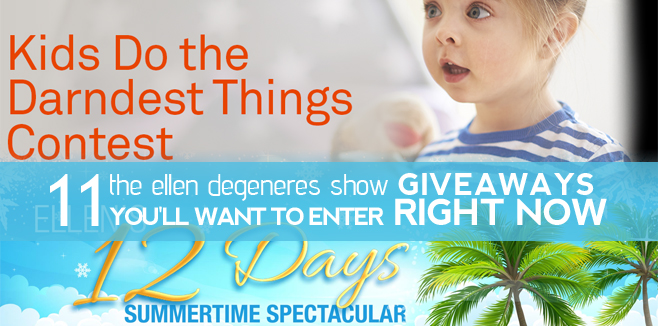 The Ellen Degeneres Show Giveaways