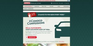 Conoco Car Confessions Promotion
