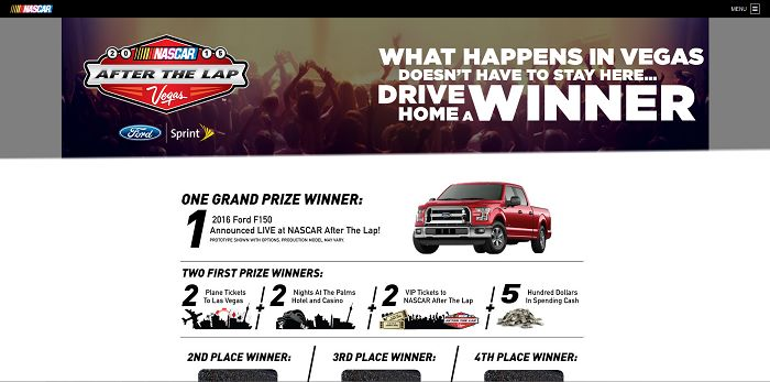 NascarAfterTheLap.com NASCAR After the Lap Sweepstakes