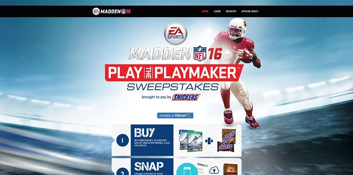 PlayThePlayMaker.com - Play The Playmaker Sweepstakes