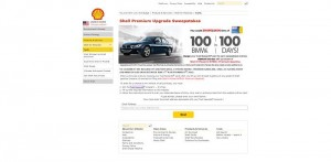 Shell Premium Upgrade Sweepstakes