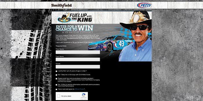 FuelUpWithTheKing.com - Smithfield Fuel Up With The King Sweepstakes