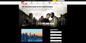 DISH The Walking Dead In NYC Sweepstakes