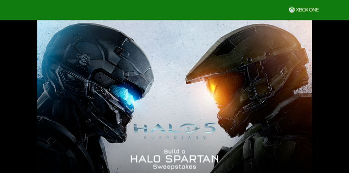Build A Halo Spartan Sweepstakes (BuildAHaloSpartan.com)