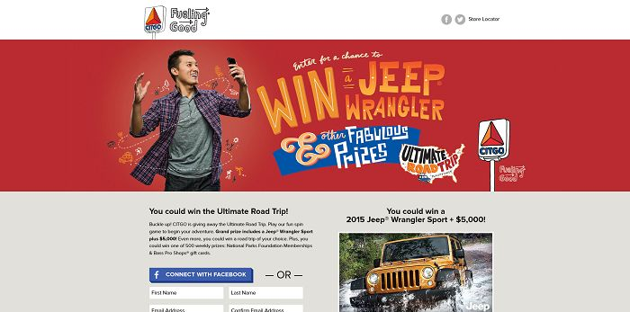 CITGOSweepstakes.com - CITGO Ultimate Road Trip Sweepstakes
