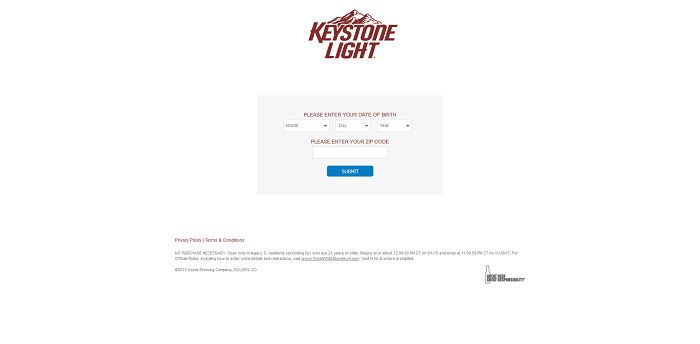 GreatWhiteStoneHunt.com - Keystone Light Hunt For The Great White Stone Promotion