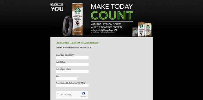 Starbucks Make Today Count Promotion