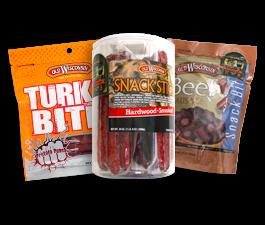 meat snacks bags