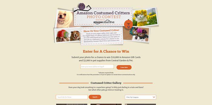 Amazon Costumed Critters Photo Contest (AmazonCostumedCritters.com)