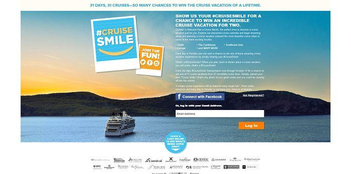 #CruiseSmile Sweepstakes
