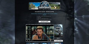 Jurassic World (National) Sweepstakes
