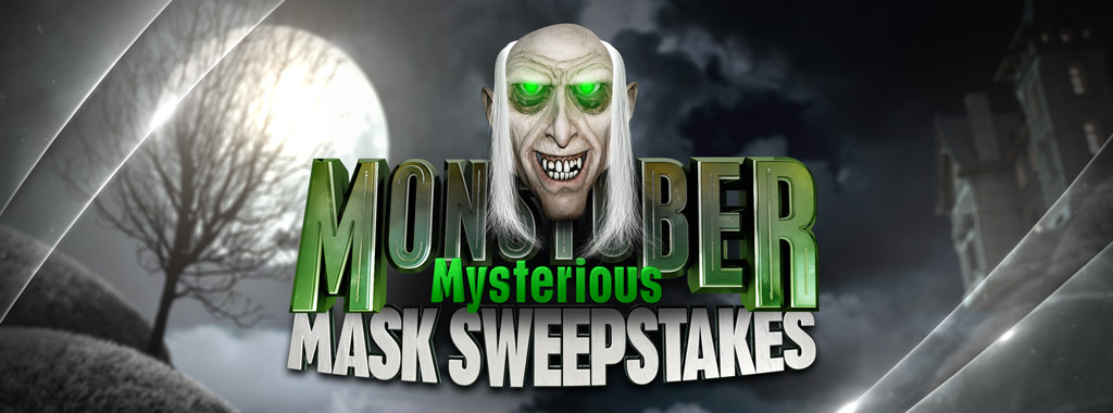 Disney Channel Monstober Mysterious Mask Sweepstakes