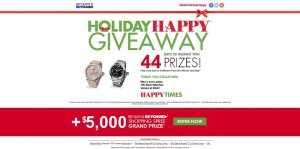 HolidayHappyGiveaway.com - Bed Bath & Beyond Holiday Happy Giveaway