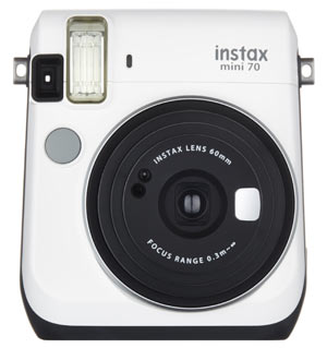 Instax Mini 70 Front White