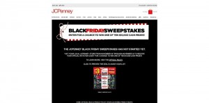 JCP.com/Sweepstakes - JCPenney Black Friday Sweepstakes