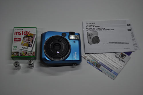 instax 70 packaging