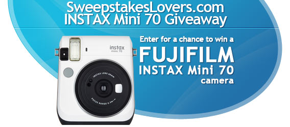 instax mini 70 giveaway