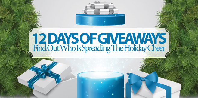 12 Days Of Giveaways