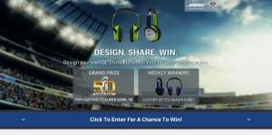 Bose Design to Win! Sweepstakes