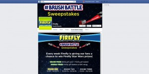 Star Wars Brush Battle Sweepstakes