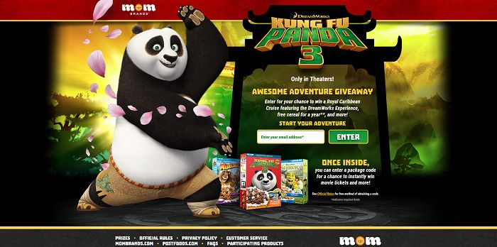 Kung Fu Panda Awesome Adventure Giveaway