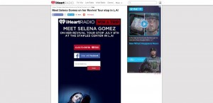 iHeartRadio See Selena Gomez in L.A! Sweeptakes