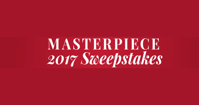 PBS 2017 MASTERPIECE Sweepstakes