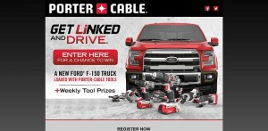 PORTER-CABLE Ultimate Tradesman Giveaway