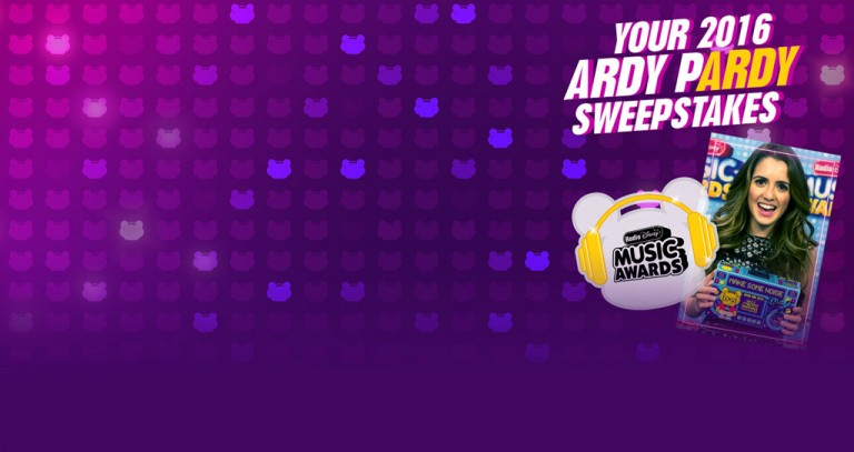 Radio Disney Your 2016 ARDY pARDY Sweepstakes 2016